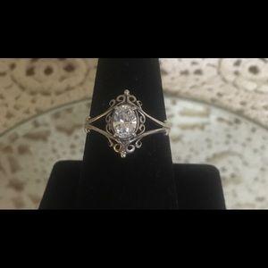 Vintage sterling KABANA Ring